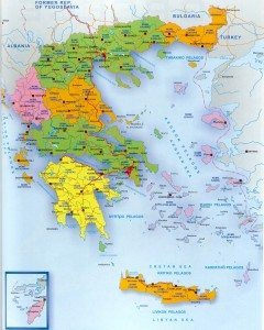 maps of cities in Greece
