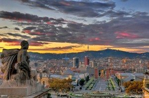 Wonderful city of Barcelona
