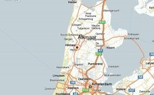 Alkmaar Netherlands Map