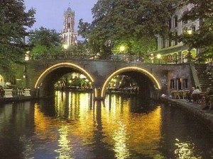 Utrecht, the Netherlands at night
