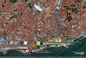 Lisbon, Portugal pictures satellite