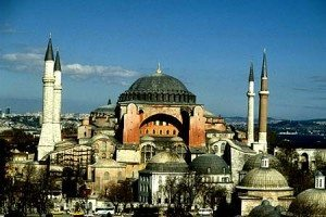 Museum of Hagia Sophia in Turkey