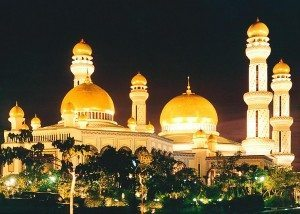 Kingdom of Brunei's beautiful at night