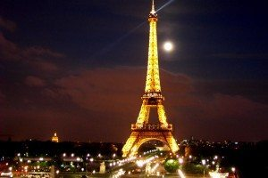 Eiffel Tower - France at night