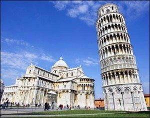 the Leaning Tower of Pisa Italian of the most important features of Italy