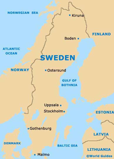 sweden_country_map