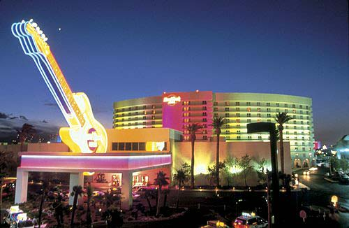 The Hard Rock Hotel and Casino in Las Vegas