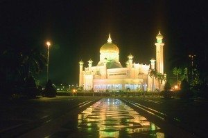 O to the beauty of Brunei