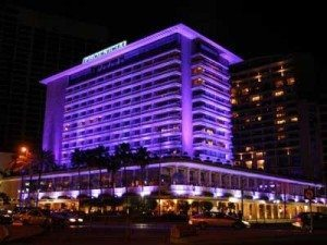 Phoenicia Hotel Beirut at night