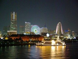 Tour Yokohama Japan night
