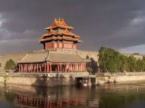 Corner tower forbidden city