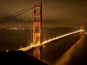 Golden gate bridge nights