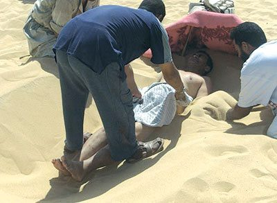 Sand is treated in Siwa and the climate is a doctor
