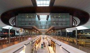 Dubai International Airport Terminal Hotel from the inside