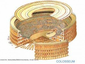 The Colosseum graphic