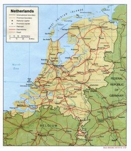 Maps of the Netherlands a strategic