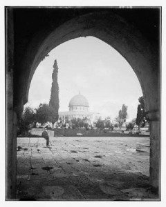 Old Photo Dome of the Rock