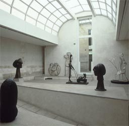 Picasso Museum France from the inside
