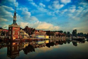 city of Alkmaar Netherlands