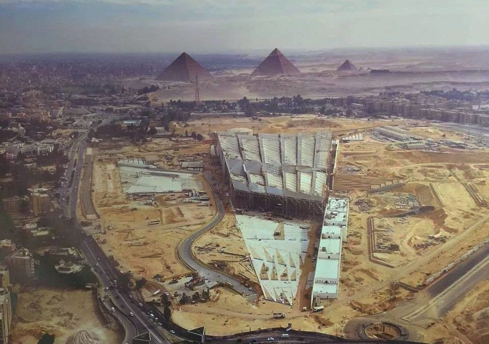 Photo of The Grand Egyptian museum in Egypt