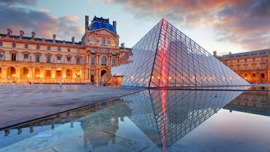Photo of The Louvre Museum in Paris History and Collections