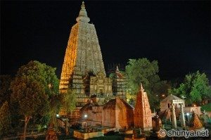 Temple Maha Boadhe night