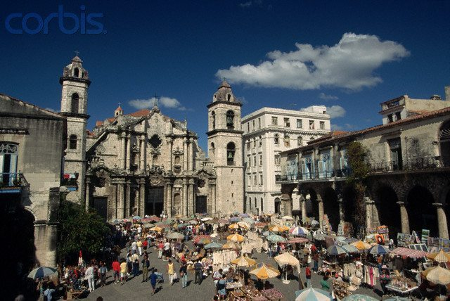 Plaza of the Cathedral Market