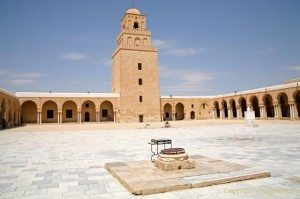 A landmark Tunisia Mosque of Uqba