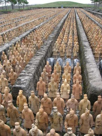 Houston Replica of Terracotta warriors