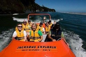 Tourism adventure business for sale in greymouth west coast nz scenic jet boat